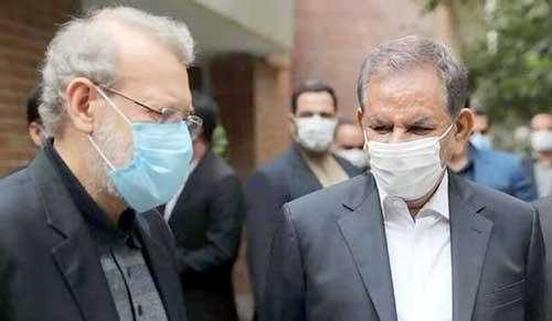 احتمال انصراف جهانگیری به نفع علی لاریجانی