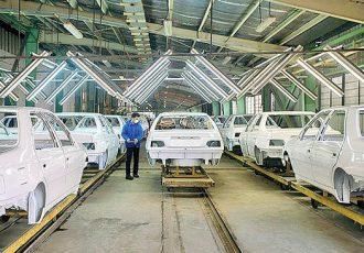 آلارم تولید خودروهای پرفروش