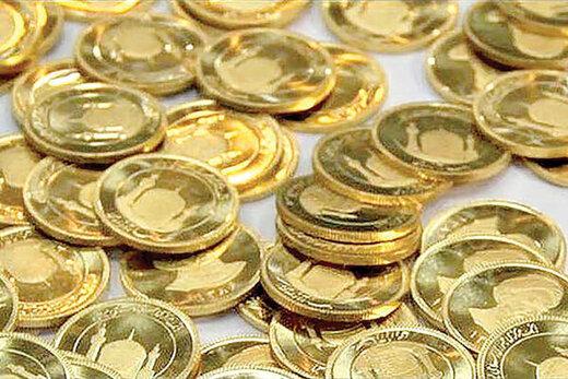 ریزش یک میلیون و ۳۰۰ هزار تومانی قیمت سکه