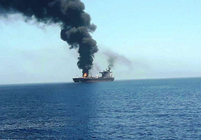 هدف قرار گرفتن یک کشتی اسرائیلی در نزدیکی سواحل امارات